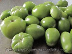 Green Tomato Refrigerator Sweet Pickles