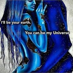love art You can be my Universe Tantra, Soulmate Love Quotes, Love Quotes For Her, Comic Couple, Twin Flame Love, Twin Flames, Twin Flame Stages, Spiritual Love, True Love