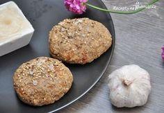 Housky z mandlové mouky Gaps Diet, Buckwheat, Crackers, Muffin, Paleo, Low Carb, Bread, Baking, Breakfast