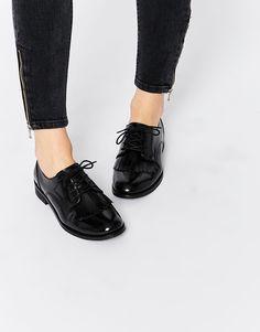 ASOS+MEMOIR+Leather+Flat+Shoes