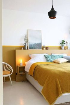 25 Edgy Color Blocking Ideas For Bedrooms  #bedrooms #blocking #color #ideas