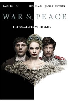 Adapted by leading screenwriter Andrew Davies, directed by Tom Harper and produced by BBC Wales and The Weinstein Company, War & Peace is a modern take on one of the most famous stories of all time. In 1805 when we first meet Pierre (Paul Dano), Natasha (Lily James), and Andrei (James Norton), they are all part of St Petersburg's glittering elite, but are fired- up with youthful ambition to find meaning in their lives.