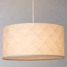 Buy John Lewis Easy-to-fit Element 3D Ceiling Shade Online at johnlewis.com - 50cm, £70.00