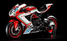 Download wallpapers MV Agusta F3 800 RC, 2018, new sportbike, cool motorcycles, MV Agusta, 4k