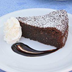 Torta caprese Bimby, mandorle e cioccolato - Ricette Bimby