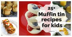Not just for kids, but for the kid in all of us! Here's 25+ Muffin tin recipes for kids the whole family will love!