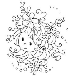 Digital freebie for a color along event with special guest Heather Huggins. Hand Embroidery Patterns, Embroidery Art, Embroidery Designs, Ribbon Embroidery, Machine Embroidery, Colorful Drawings, Cute Drawings, Free Coloring, Adult Coloring
