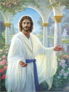 Abide With Me by Greg Olsen ~ Jesus My Yeshua Bridegroom King.Imabsolutely love this pic of my Messiah. Greg Olsen Art, Image Jesus, Jesus E Maria, Tres Belle Photo, Pictures Of Christ, Bible Pictures, Church Pictures, Come Unto Me, Munier