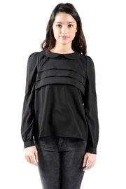 Suncoo Peter Pan Collar Blouse $99.00 - Buy it here: https://www.lookmazing.com/suncoo-peter-pan-collar-blouse/products/4788371?shrid=46_pin