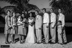 #black and with wedding #riviera maya #cancun #Barcelo @alexmelendezphotography