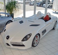 Mercedes SLR. My fav car brand. Always on point #luxury #classy #cocky