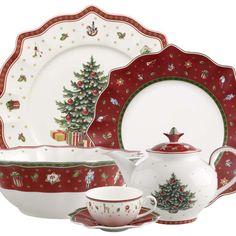 Waechtersbach holiday winter splendor dinnerware the - Vajillas villeroy boch ...