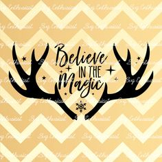 Believe in the magic SVG, Christmas Svg, Xmas Svg, Winter Svg, Deer Svg, Noel SVG, Santa Claus Svg, Glasses SVG, Eps, Cut Files, Clip Art, by SVGEnthusiast on Etsy