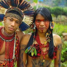 Indigenous Beauty from the Amazon Rainforest