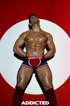 Kirill Dowidoff #underwear #model for #addicted www.VOCLA.com