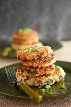 Smashed Potato Pancakes | Paula Deen  potato pancakes Smashed Potato Pancakes | Paula Deen My Favorite Food, Favorite Recipes, Potato Patties, Best Dishes, Side Dishes, Potato Dishes, Potato Recipes, Vegetable Recipes, Potato Pancakes