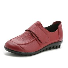 Women Soft Leather Slip On Flat Shoes Magic Stick Pure Color Comfy Flat Loafers  Worldwide delivery. Original best quality product for 70% of it's real price. Hurry up, buying it is extra profitable, because we have good production sources. 1 day products dispatch from warehouse. Fast...
