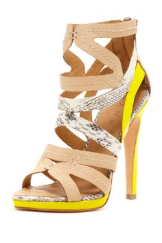 L.A.M.B. Jen Sandal I really like these though I would never be able to wear them because I would brake my ankle :p