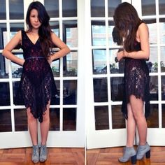 great  for a bikini coverup DIY Lover Serpent Lace Dress. Make this dress! It's ridiculously easy!