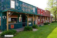 Longhorn Saloon, Pioneer Village, Brainerd, Minnesota