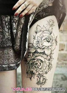 tatuajes de flores para mujeres 2