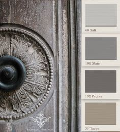 grey colours. Painting the Past