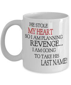 Bride-To-Be Mug - Coffee Lovers Mug - Gifts Under 20 - Humorous Mug - Gift For Her - Gift For Briide - Novelty Mug - Wedding Coffee Mug Gift by InspireAndSmile on Etsy
