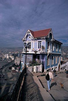 Valparaiso | Travelhome Campervakanties in Chili | Travelhome Campervakanties