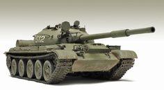 T-62 Main Battle Tank Free Paper Model Download