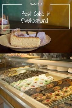 Where to get the best cake in Swakopmund, Namibia