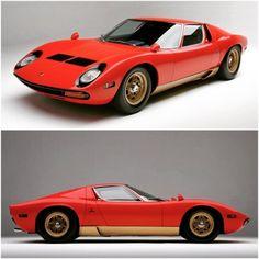 1971 Lamborghini Miura SV :: Via RM Auctions. #Lamborghini...