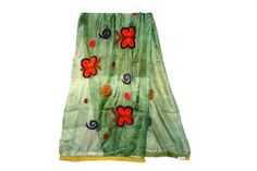 Crafted from Merino Wool and Handspun Silk, Felted Silk Scarves are made exclusively from natural fibers.Silk and Wool are felted into a scarf which fee. Forest Garden, Spotlights, Silk Scarves, Merino Wool, Two By Two, Butterfly, Elegant, Chic, Skirts