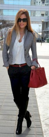 07 Trendy Business Casual Work Outfit for Women