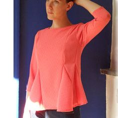 Ready to sew, patrons de couture - ready to sew Sewing Patterns, Ruffle Blouse, Tops, Women, Style, Inspiration, Fashion, Shopping, Patterns