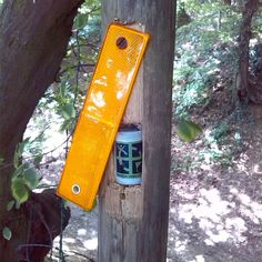 Geocaches like this aren't the easiest for me, but they're very clever! Just remember you can't damage a post you don't own or didn't place to create a cache hiding spot. #IBGCp