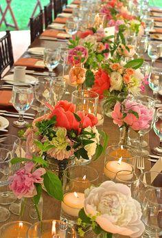 Continual Summer Blooms.... Peonies & Garden Roses