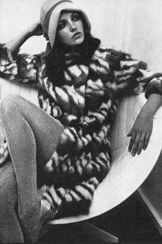 Photo by Helmut Newton, 1966.