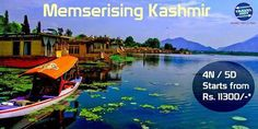 Mesmerizing Kashmir #TourPackage, 4N / 5D Starts from Rs. 11300/-*. #KashmirTours #KashmirPackage #BeautifulKashmir