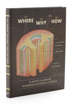The Where, the Why, and the How. 75 artists illustrate the wondrous mysteries of science. I need this.