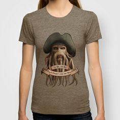 Yo Ho, yo Ho! #1 #T-shirt #Digitalpainting Davy Jones PIRATES OF THE CARIBBEAN, #digitalart, #painting