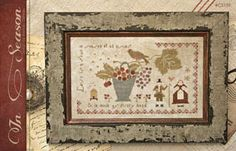 cross stitch patterns : In Season at thecottageneedle.com