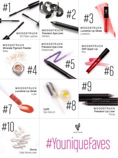 Look at the top younique products!! They are amazing!! And of course, #1 is the 3D Fiber Lash mascara.
