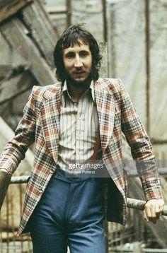 1972--Guitarist Pete Townshend of English rock group The Who, circa 1972. Credit: Michael Putland