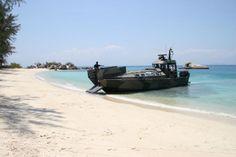 Watercat M12 on beach
