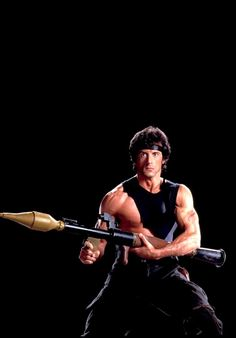 """theactioneer: """"Sylvester Stallone, Rambo: First Blood Part II """" Silvestre Stallone, Sylvester Stallone Rambo, Movie Stars, Movie Tv, Sly Stone, Big Whale, Clint Walker, Classic Movie Posters, Rocky Balboa"""