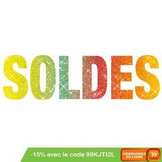 C'est parti pour les soldes sur www.shophbl.com avec le code 99KJTI2L ou au 0251351094 #Herbalife