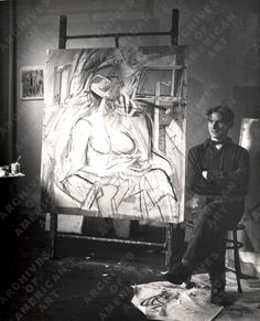 Willem De Kooning and His Fourth Avenue Studio | ineedartandcoffee