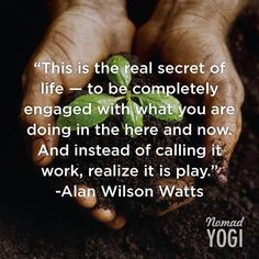 Behold, the real secret to life. #yoga #meditation #quote
