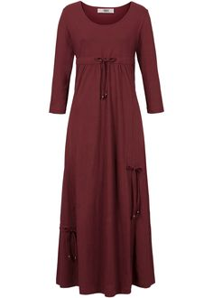 Shirt-Kleid, 3/4 Arm ahornrot - bpc bonprix collection jetzt im Online Shop von bonprix.de ab ? 29,99 bestellen. Mit Tunnelzug und Band zur ...