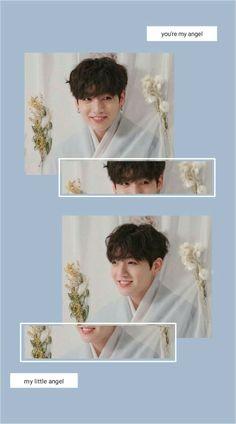 Jungkook Cute, Jimin Jungkook, Aesthetic Pastel Wallpaper, Aesthetic Wallpapers, Boys Wallpaper, Iphone Wallpaper, Jung Kook, Bts V Gif, Bts Korea